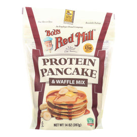 Bob's Red Mill - Mix - Pancake - Protein - Case Of 4 - 14 Oz - BeeGreen