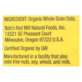 Bob's Red Mill - Oatmeal - Organic Scottish - Case Of 4 - 20 Oz. - BeeGreen