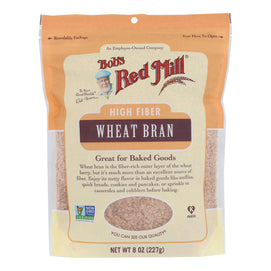 Bob's Red Mill - Wheat Bran - Case Of 4-8 Oz - BeeGreen