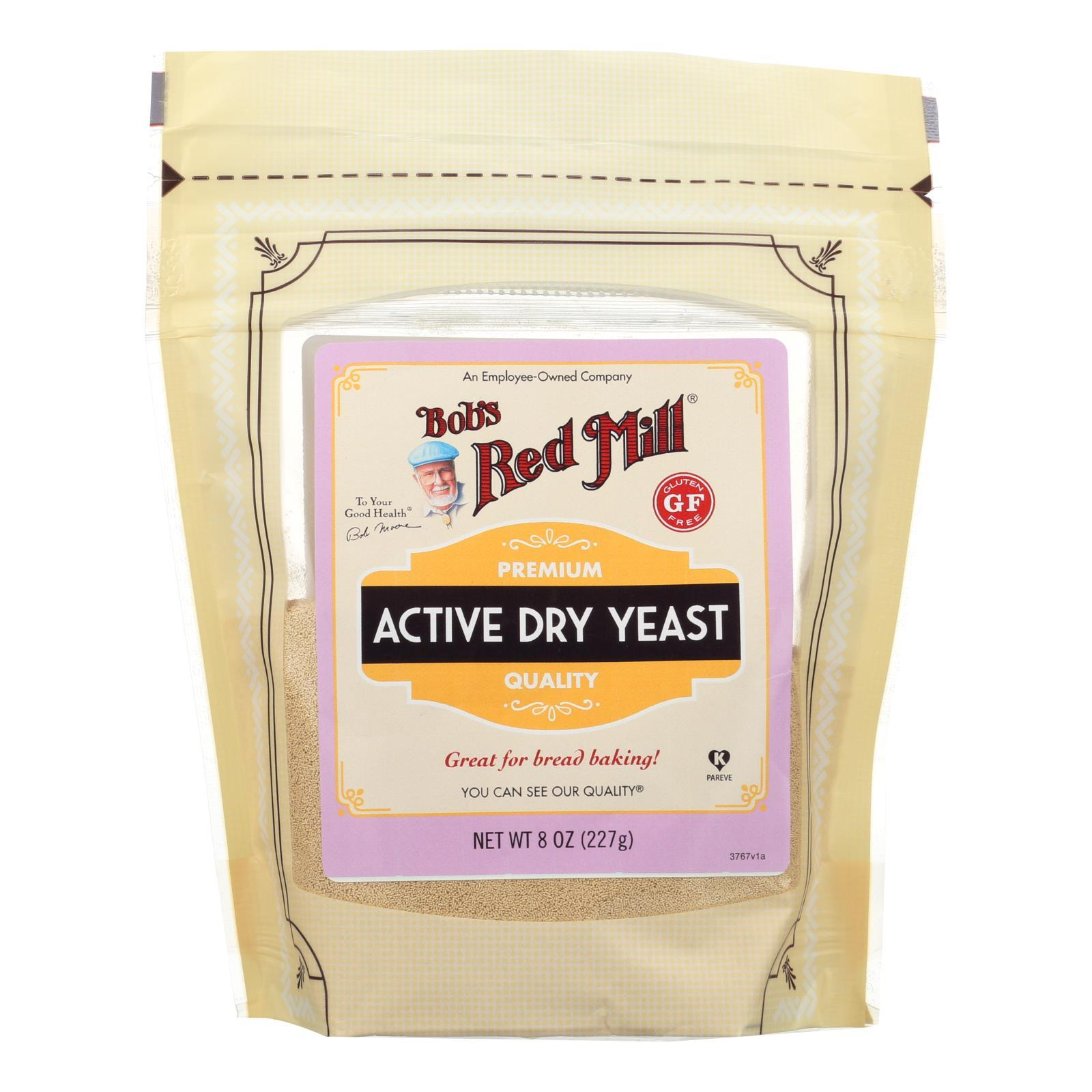 Bob's Red Mill - Yeast Active Dry - Case Of 6-8 Oz - BeeGreen