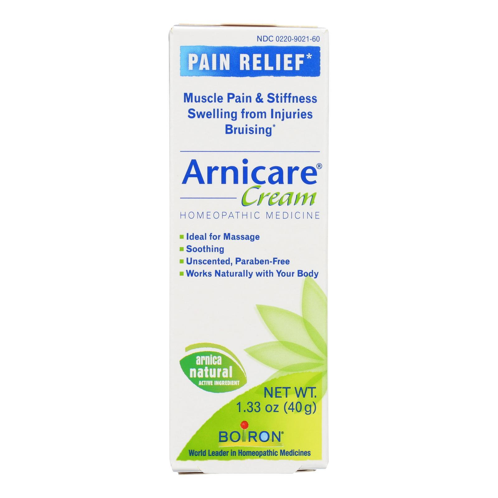 Boiron - Arnica Cream - 1.33 Oz - BeeGreen