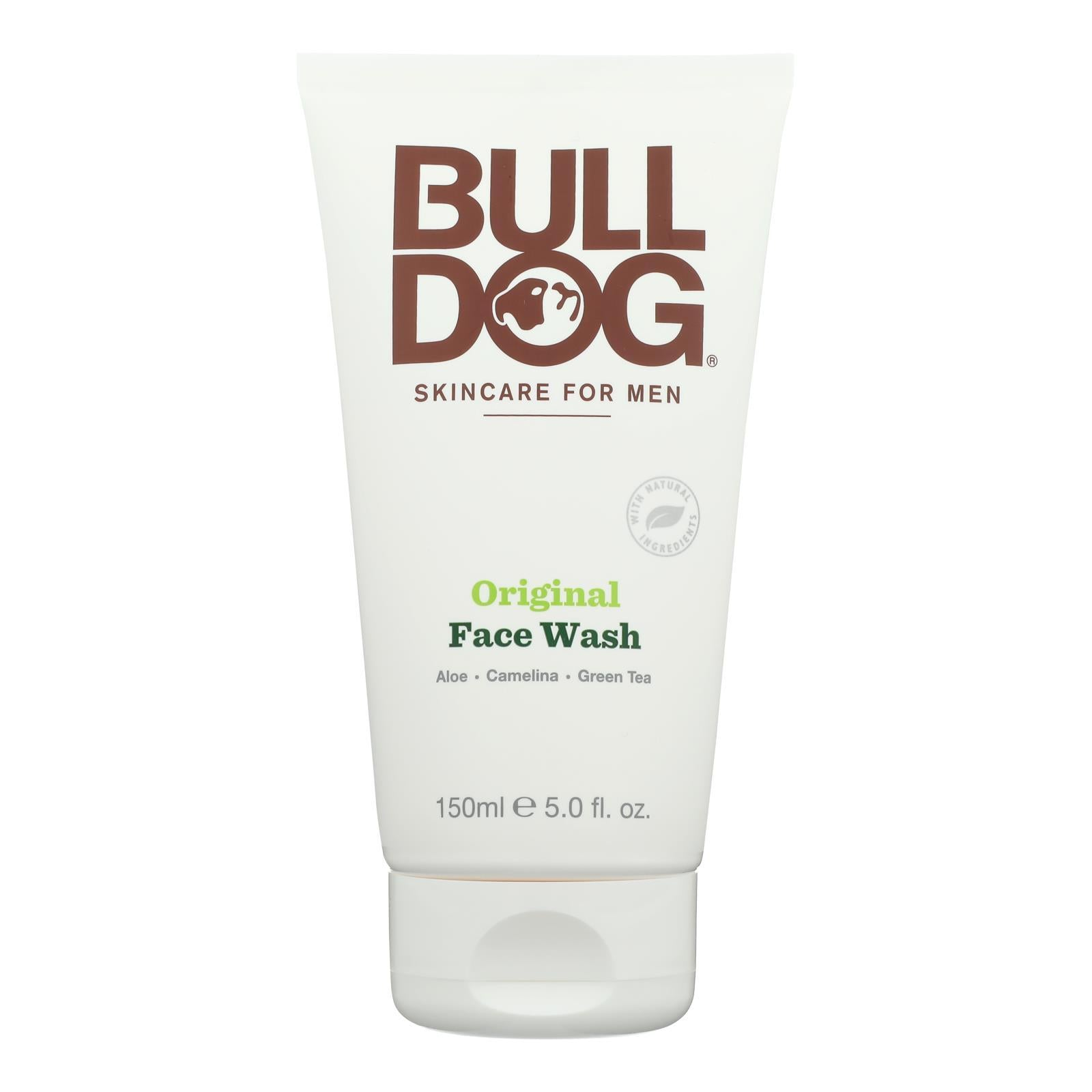 Bulldog Natural Skincare - Face Wash - Original - 5 Fl Oz - BeeGreen