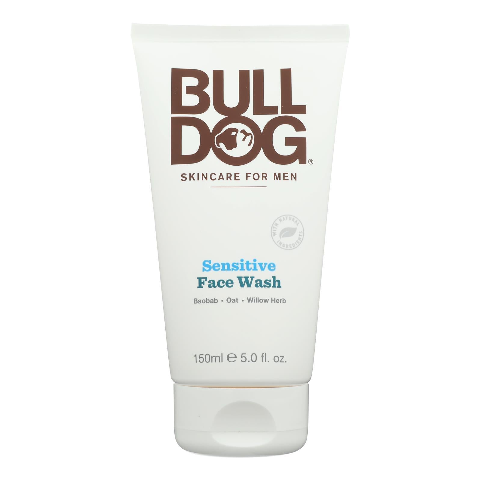Bulldog Natural Skincare - Face Wash - Sensitive - 5 Fl Oz - BeeGreen