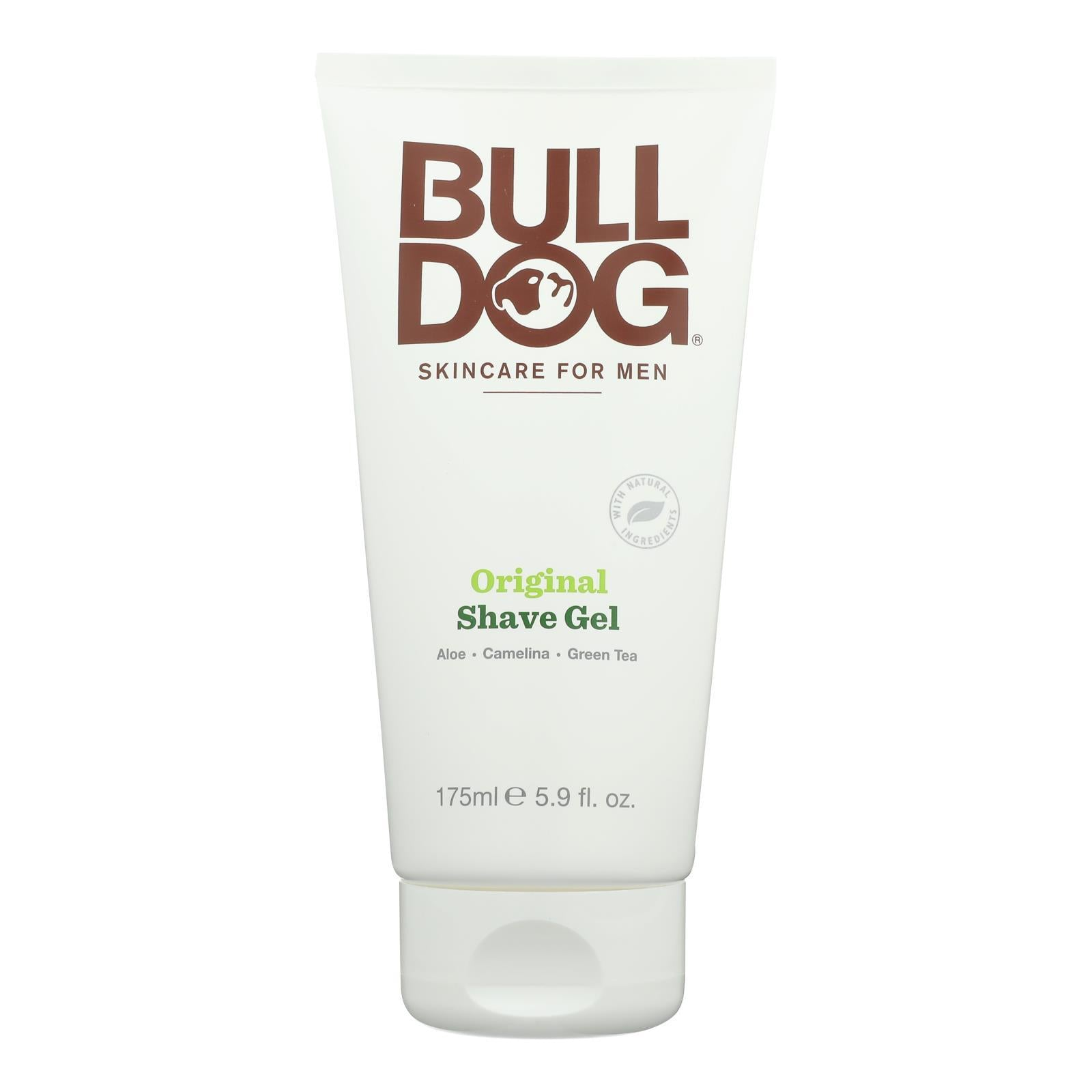 Bulldog Natural Skincare - Shave Gel - Original - 5.9 Fl Oz - BeeGreen