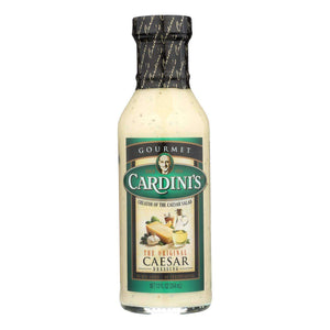 Cardini's Dressing - Original Caesar - Case Of 6 - 12 Fl Oz - BeeGreen