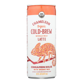 Chameleon Cold-brew - Cld Brew Coffee Cinnamon - Case Of 12 - 8 Fz - BeeGreen