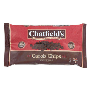 Chatfield's Dairy Free Carob Morsels - Case Of 12 - 12 Oz - BeeGreen