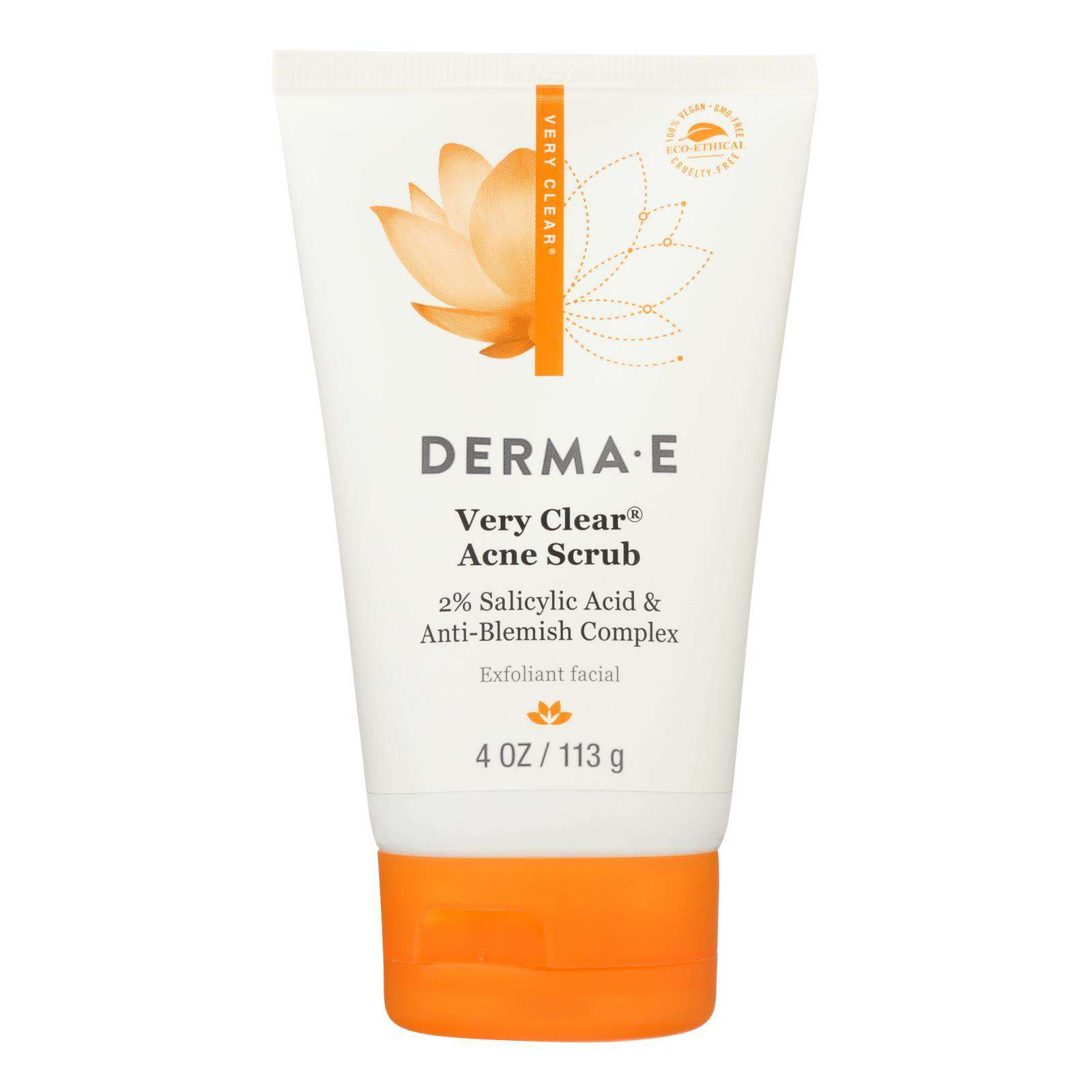 Derma E - Very Clear Cleansing Scrub - 4 Fl Oz. - BeeGreen