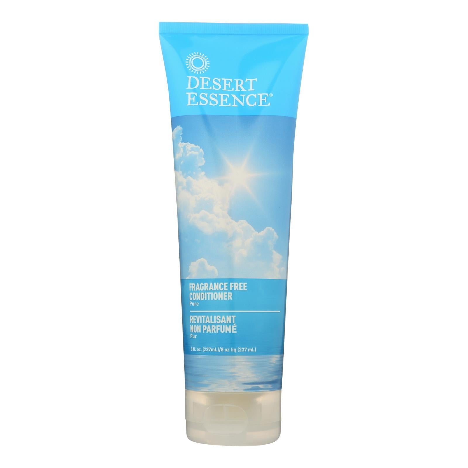 Desert Essence - Pure Conditioner Fragrance Free - 8 Fl Oz - BeeGreen
