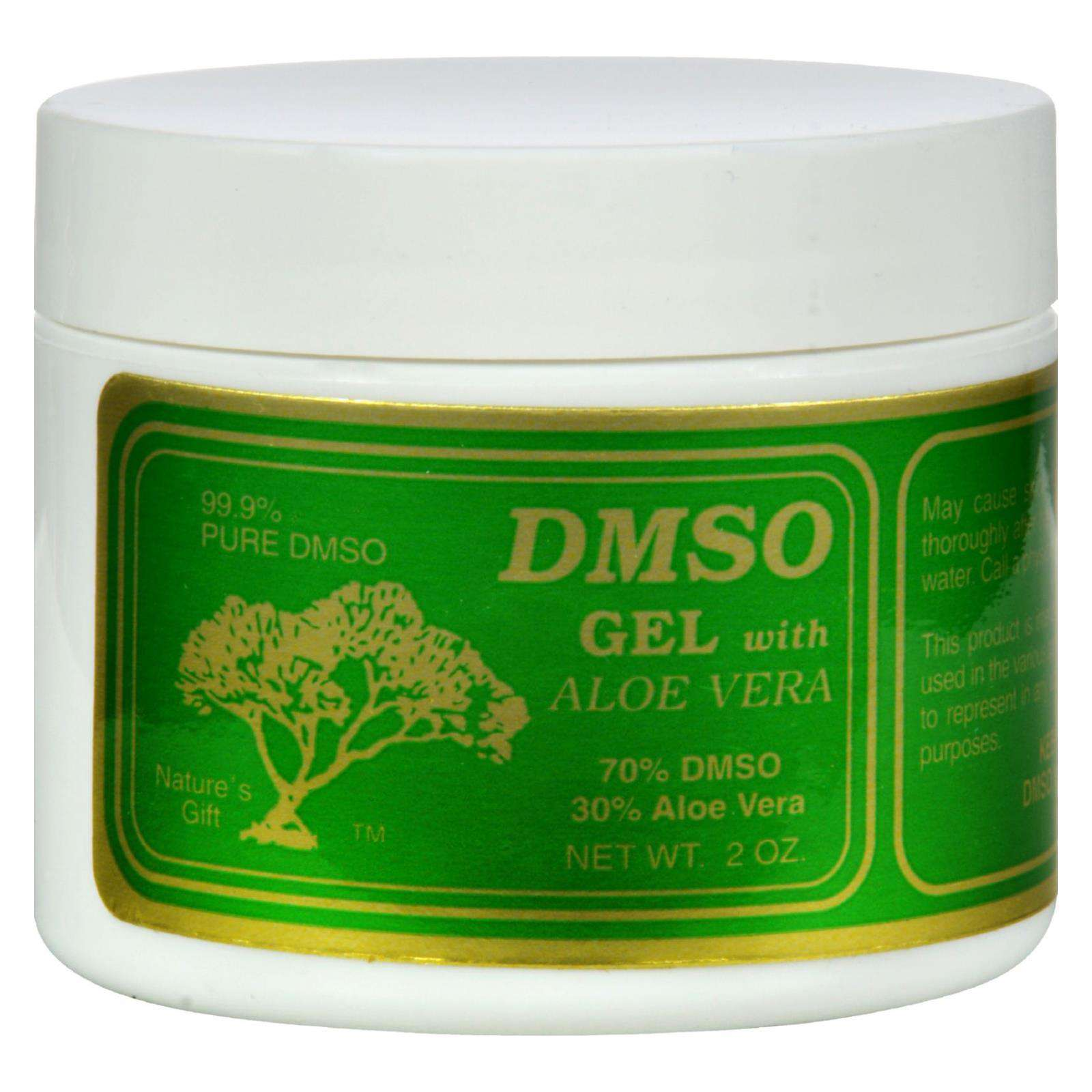 Dmso Gel With Aloe Vera - 2 Oz - BeeGreen