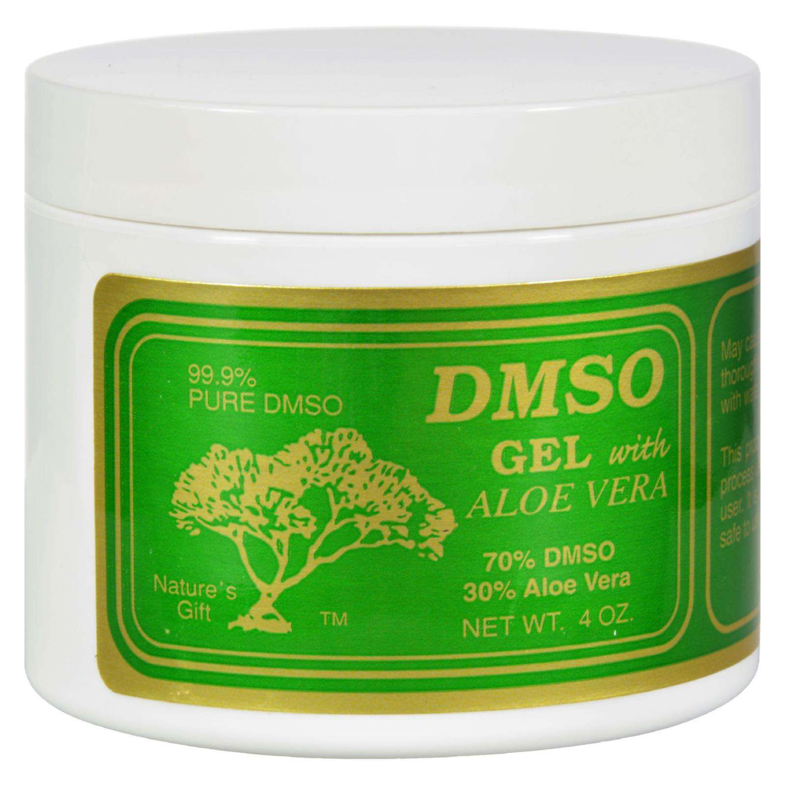 Dmso Gel With Aloe Vera - 4 Oz - BeeGreen