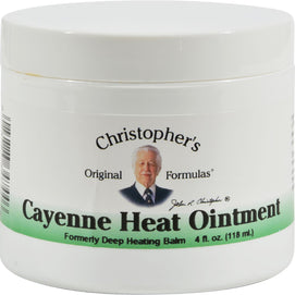 Dr. Christopher's Cayenne Heat Ointment - 4 Fl Oz - BeeGreen