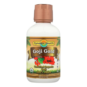 Dynamic Health Organic Certified Goji Berry Gold Juice - 16 Fl Oz - BeeGreen