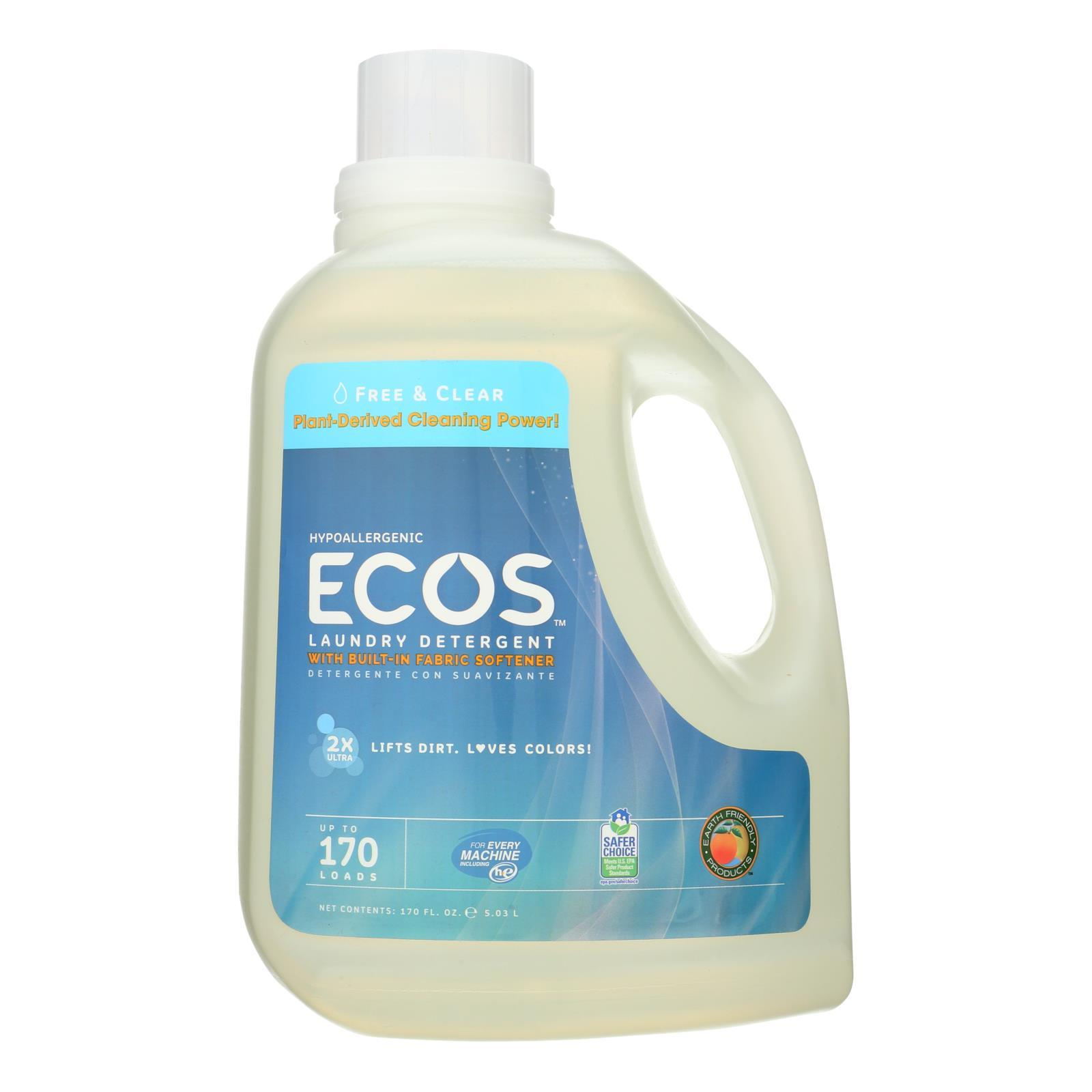 Earth Friendly Free And Clear Laundry Detergent - Case Of 2 - 170 Fl Oz. - BeeGreen
