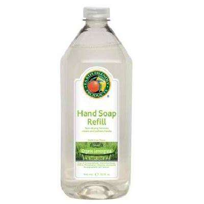 Earth Friendly Liquid Hand Soap Refill Lemongrass (6x32OZ ) - BeeGreen