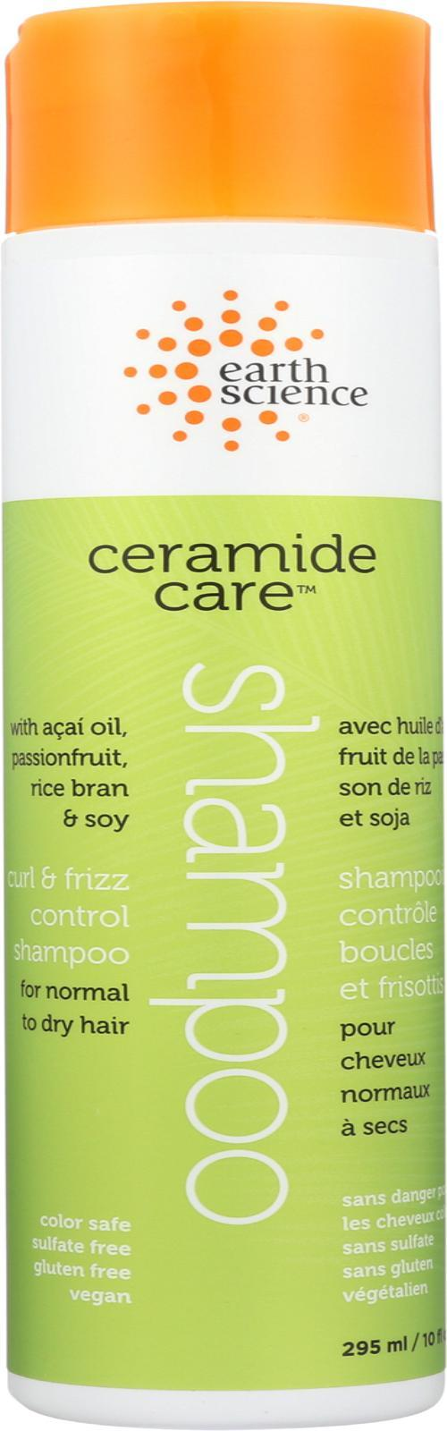 Earth Science Ceramide Care Curl And Frizz Control Shampoo - 10 Fl Oz. - BeeGreen