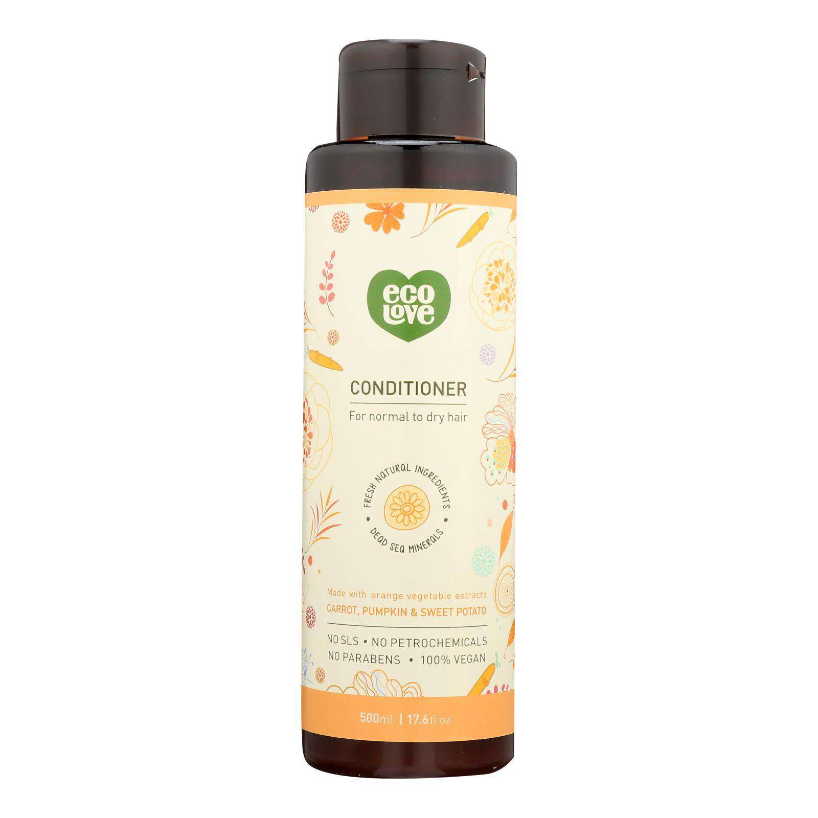 Ecolove - Conditioner Orange Veg Nrml&dry - 1 Each - 17.6 Fz - BeeGreen