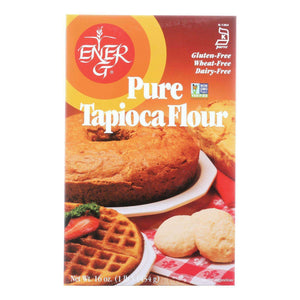 Ener-g Foods - Flour - Tapioca - Pure - Wheat Free - 16 Oz - Case Of 12 - BeeGreen