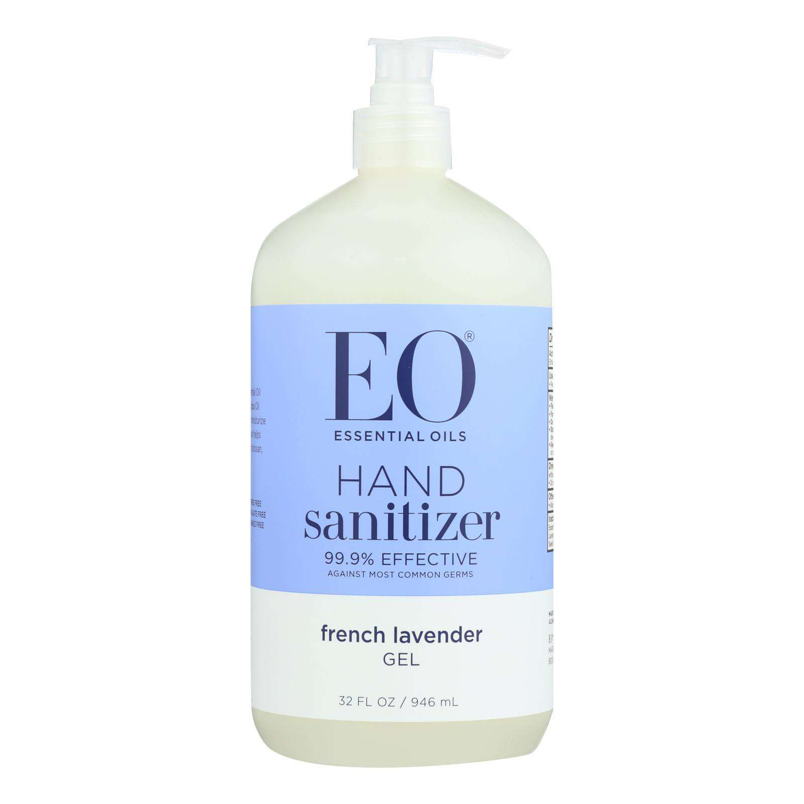 Eo Products - Hand Sanitizing Gel - Lavender Essential Oil - 32 Oz - BeeGreen