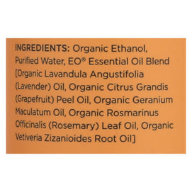 Eo Products - Organic Deodorant Spray Citrus - 4 Fl Oz - BeeGreen