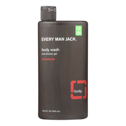 Every Man Jack Body Wash - Cedarwood - 16.9 Oz - BeeGreen