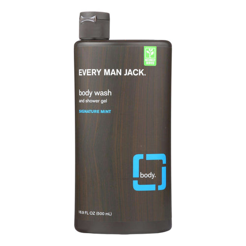 Every Man Jack Body Wash - Signature Mint - 16.9 Oz - BeeGreen