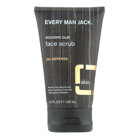 Every Man Jack Face Scrub - Fragrance Free - 4.2 Fl Oz. - BeeGreen