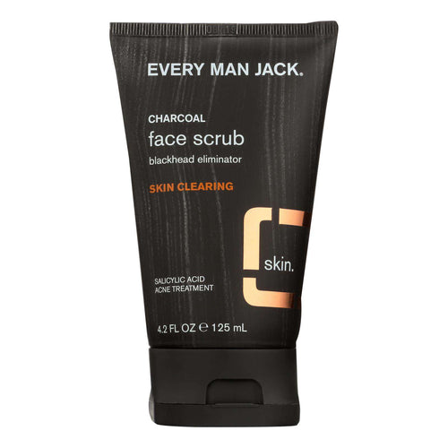 Every Man Jack Face Scrub - Skin Clearing - 4.2 Oz - BeeGreen