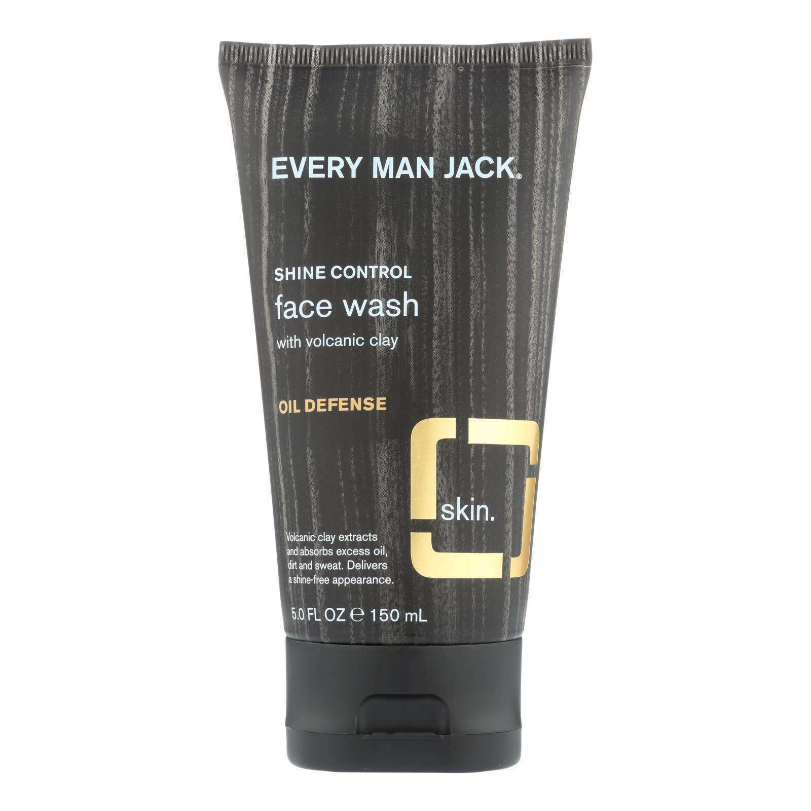 Every Man Jack Face Wash - Fragrance Free - 5 Fl Oz. - BeeGreen