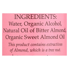 Flavorganics Extract - Organic - Almond - 2 Oz - Case Of 12 - BeeGreen