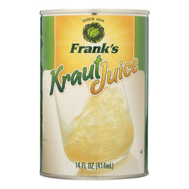 Frank's Kraut Juice - Case Of 12 - 14 Fl Oz - BeeGreen