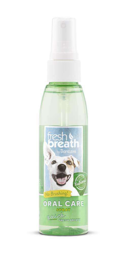 Fresh Breath by TropiClean Oral Care Spray 4oz - BeeGreen