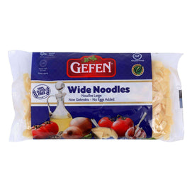 Gefen Noodles Wide - Case Of 12 - 9 Oz. - BeeGreen