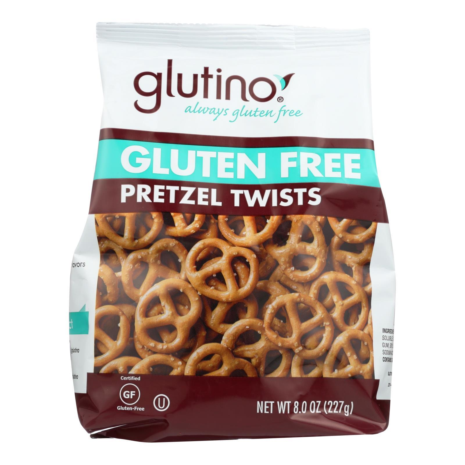 Glutino Pretzel Twists - Case Of 12 - 8 Oz. - BeeGreen