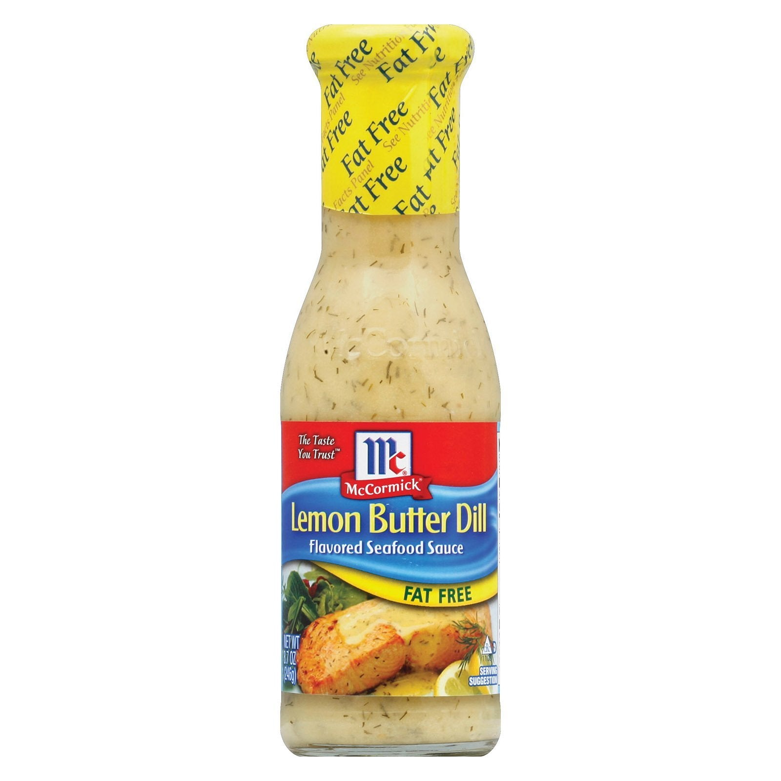 Golden Dipt - Seafood Sauce - Lemon Butter Dill - Case Of 6 - 8.7 Oz. - BeeGreen