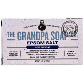 Grandpa's Epsom Salt Bar Soap (1x4.25 OZ) - BeeGreen