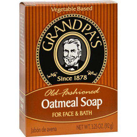 Grandpa's Oatmeal Bar Soap (1x4.25 OZ) - BeeGreen