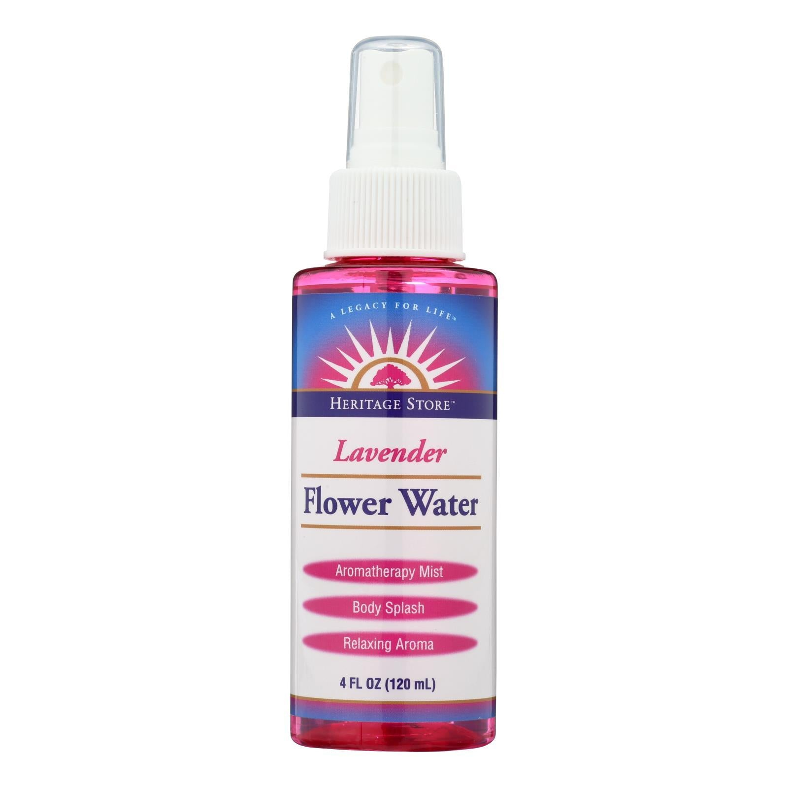 Heritage Products Flower Water Lavender - 4 Fl Oz - BeeGreen