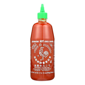 Huy Fong Hot Chili Sauce - Sriracha - Case Of 12 - 28 Oz. - BeeGreen