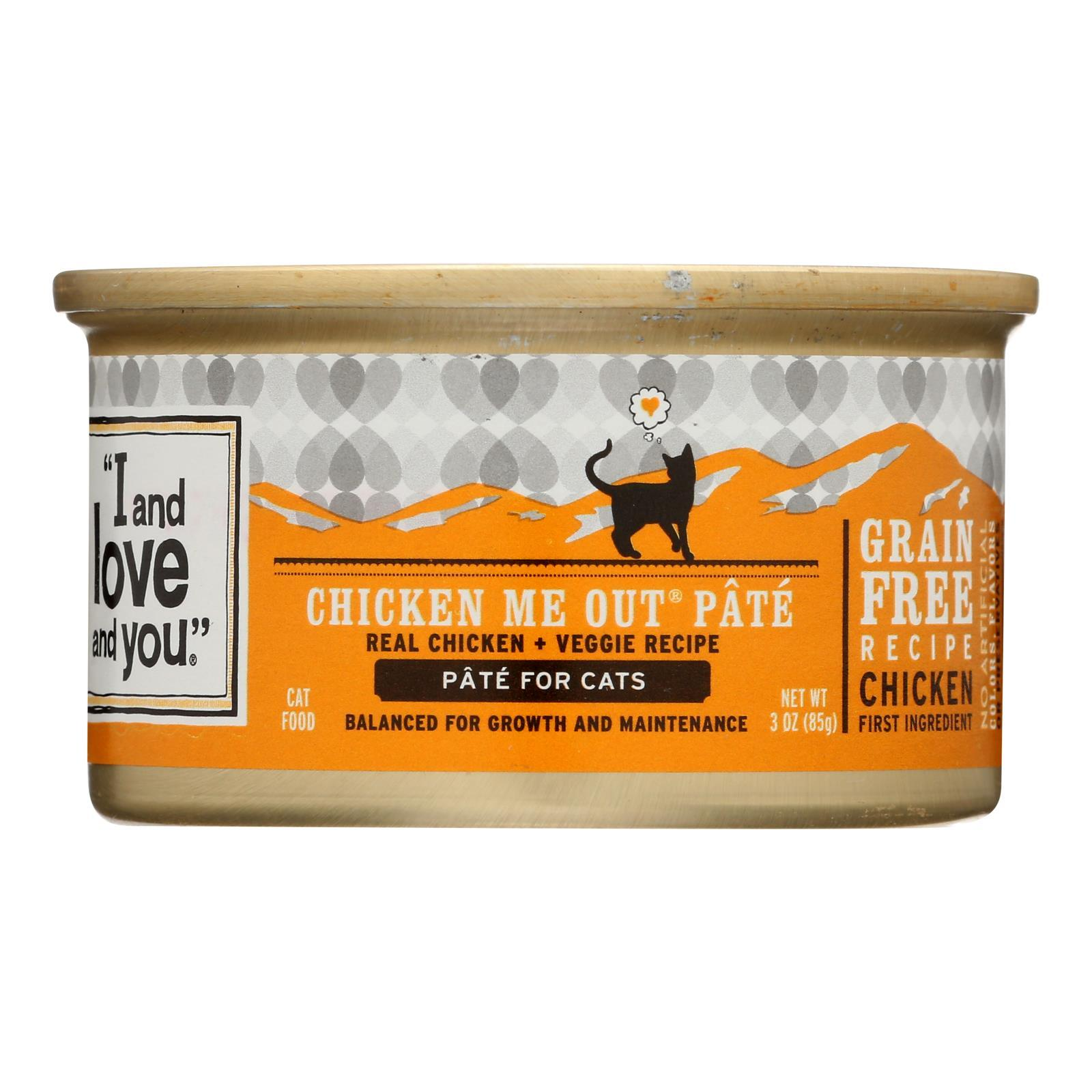 I And Love And You Chicken Me Out - Wet Food - Case Of 24 - 3 Oz. - BeeGreen