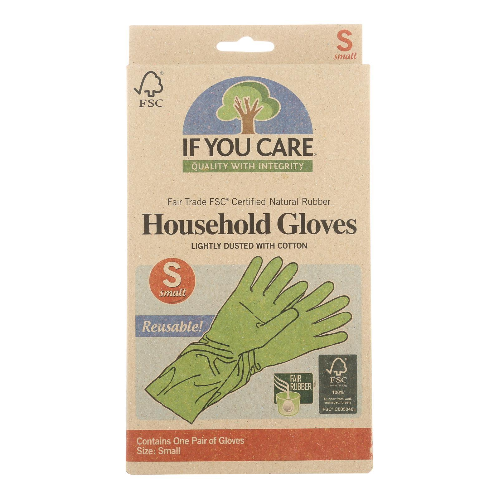 If You Care Household Gloves - Small - 1 Pair - BeeGreen