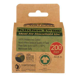 If You Care Natural Cooking Twine - 200 Ft - BeeGreen