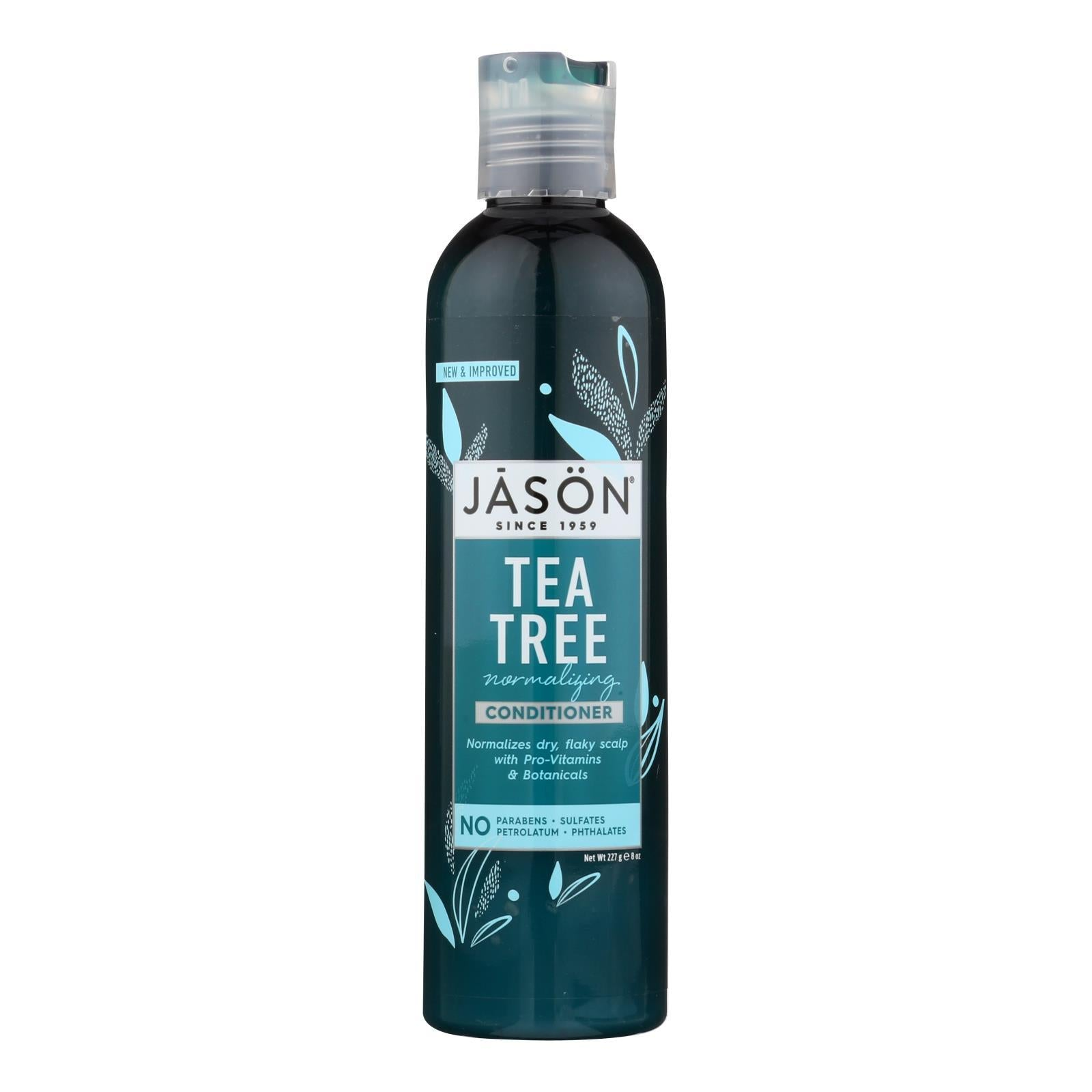 Jason Normalizing Treatment Conditioner Tea Tree - 8 Fl Oz - BeeGreen