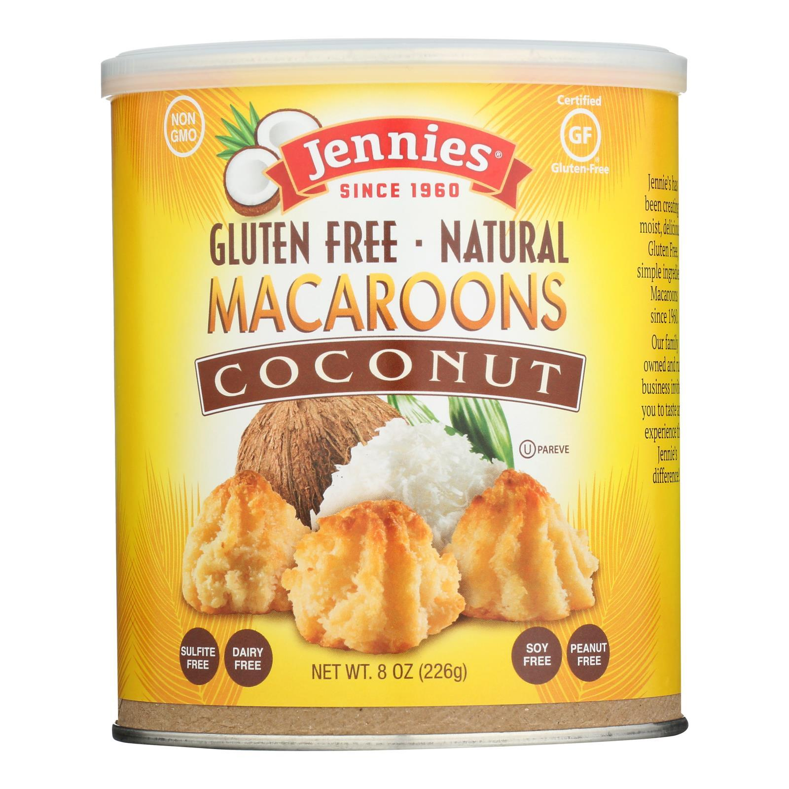 Jennie's Coconut Macaroon - Case Of 12 - 8 Oz. - BeeGreen