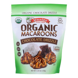 Jennies - Macaroon Chocolate Drizzle - Case Of 6 - 5.25 Oz - BeeGreen