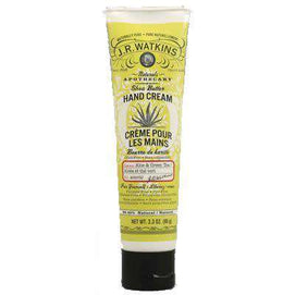 J.R. Watkins Aloe and Green Tea Hand Cream (1x3.3 Oz) - BeeGreen