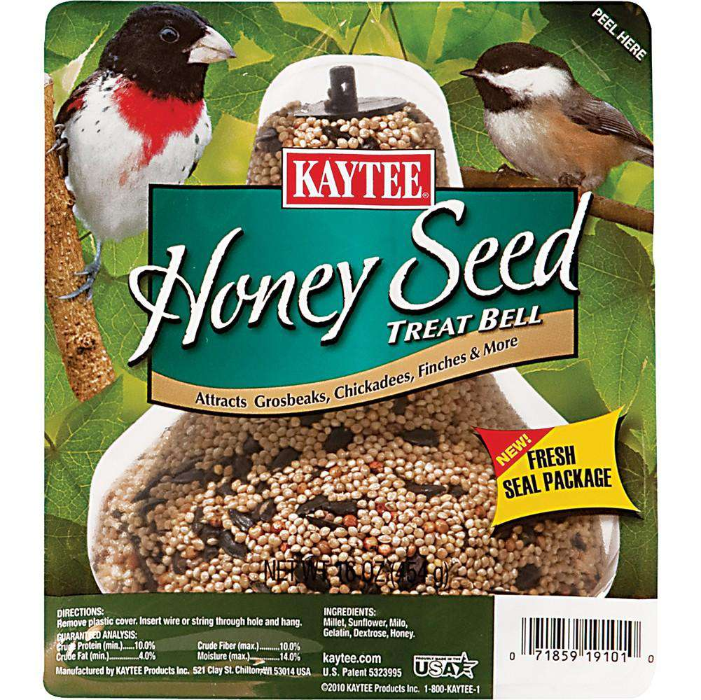 Kaytee Honey Mixed Seed Bell 1lb - BeeGreen