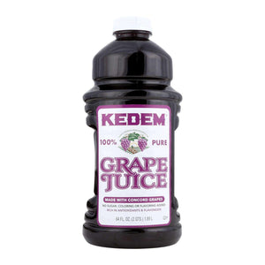 Kedem Grape Juice - Case Of 8 - 64 Fl Oz. - BeeGreen