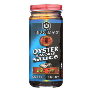 Kikkoman Sauce - Oyster - Case Of 12 - 9.3 Fl Oz - BeeGreen