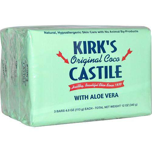 Kirk's Original SAloe Castile Bar (1x3 PACK) - BeeGreen